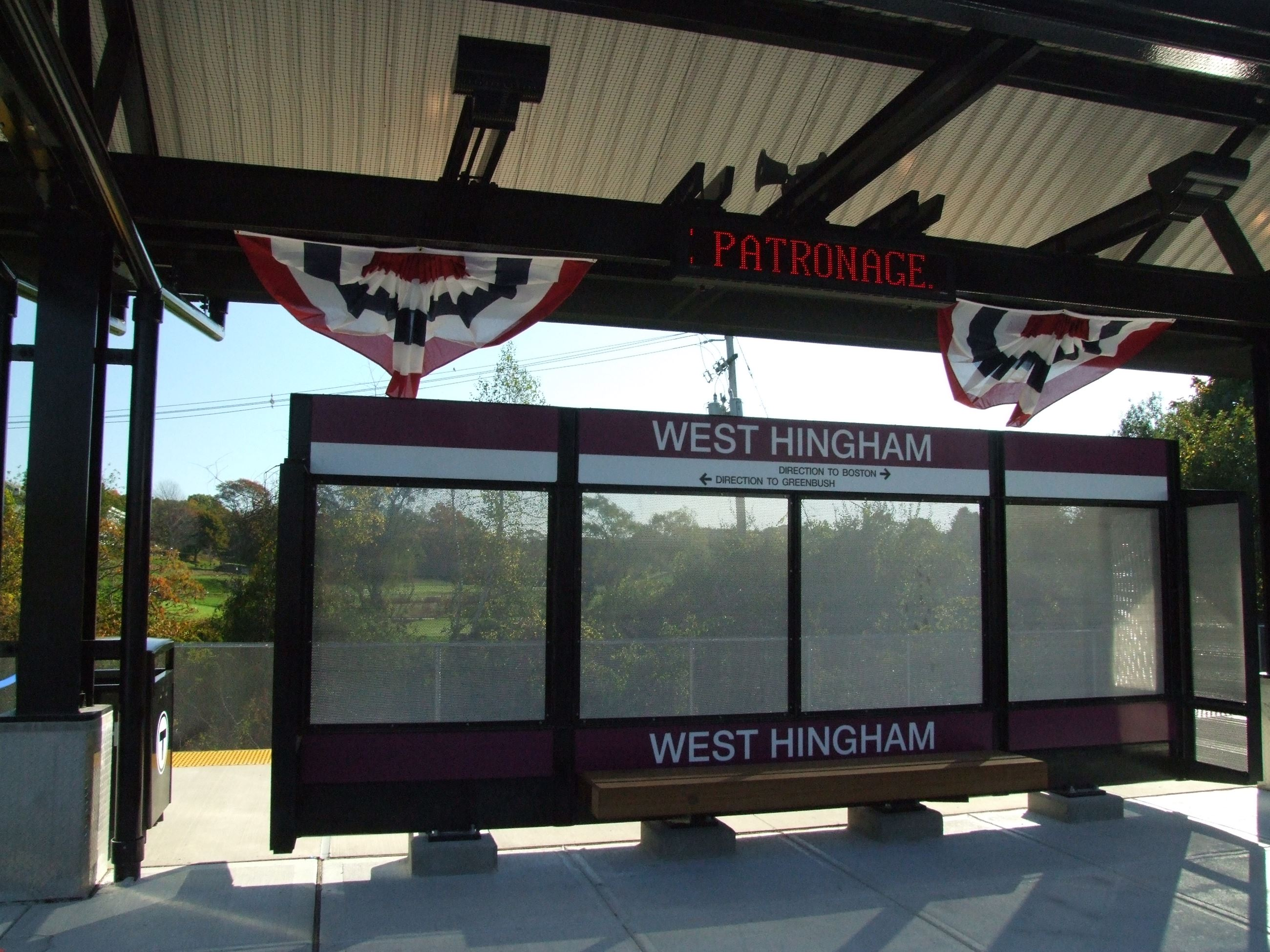 West Hingham MBTA Station