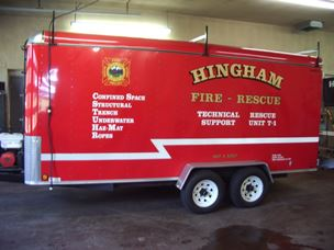 Technical Rescue Support Trailer