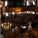 Audience in Hingham's historic Old Ship Church