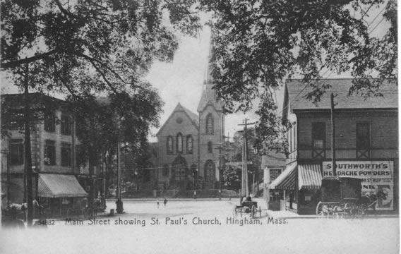 Main Street showing St. Paul's Church