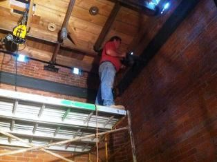 Bell Tower Restoration Worker CPC Project